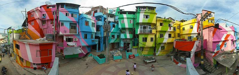 favela painting rio de janeiro Praça_Cantão