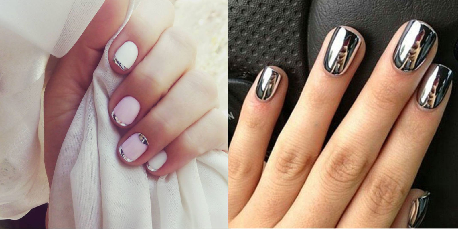 Mirror Nail Designs will have you staring at your Manicure All Day