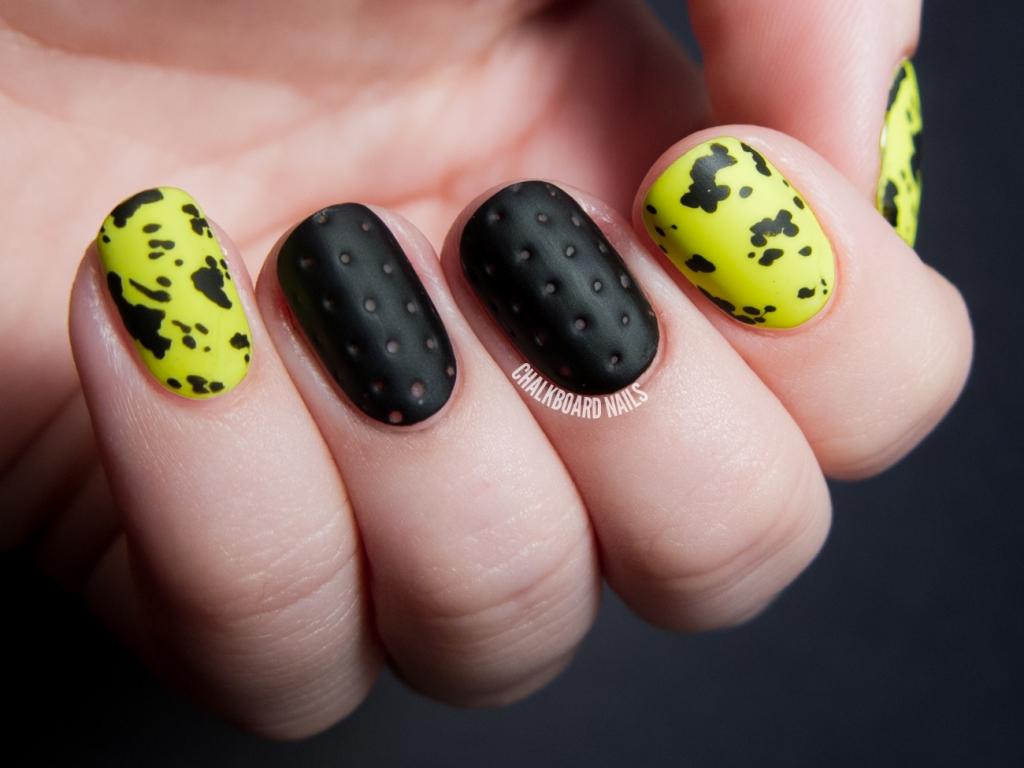 Perforated Nail Art |Textured Nails