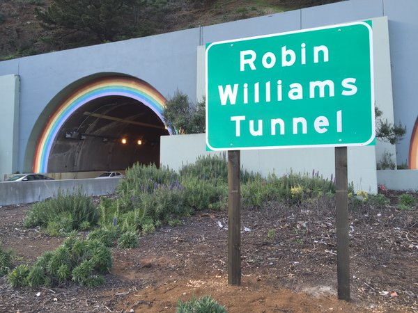 Robin Williams Tunnel Named to Honor Late Comedian and Actor
