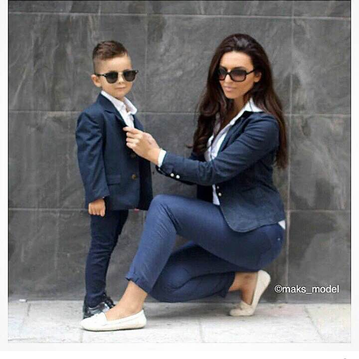 14 Cute Mother Son Outfit Ideas For Your Photo Shoot.