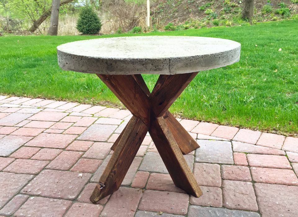 Table with wood