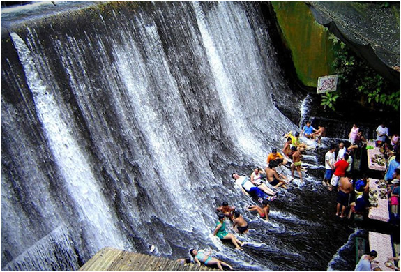 Labassin Waterfall Restaurant in San Pablo Philippines