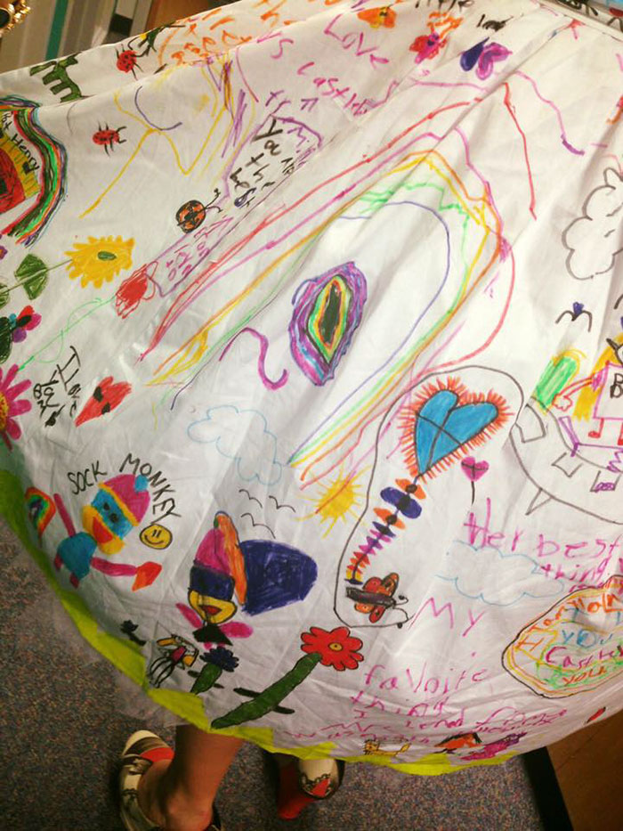 students doodle teacher dress chris sharee castlebury pat henry elementary 2