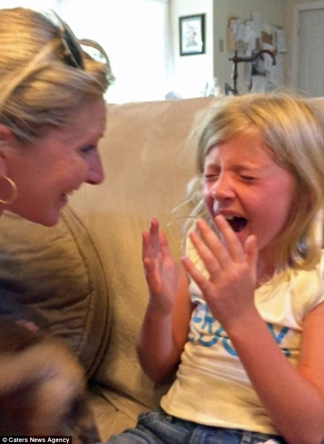 9 Year Old Broke Out In Tears On Getting The Bday Gift She Always Wanted