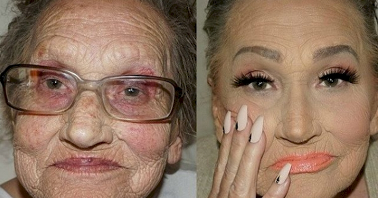 glam ma - Grandma who has proved that age is just a number