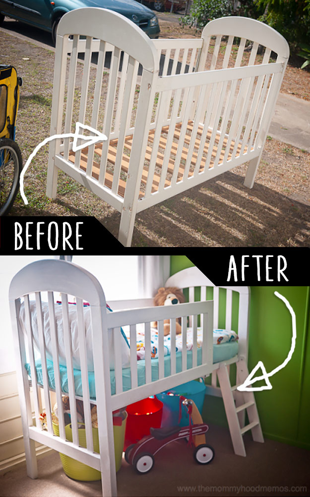 Crib Into Toddler's Loft Bed | DIY Project