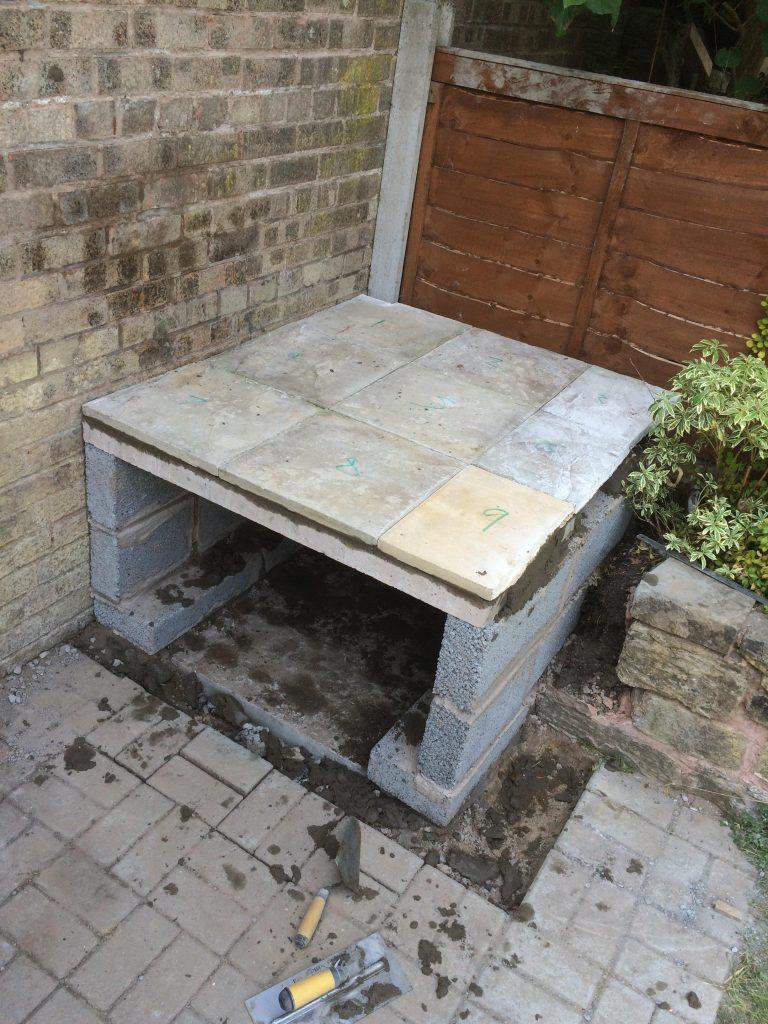 DIY Outdoor Brick Pizza Oven Step 5