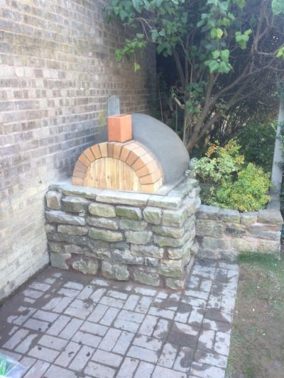 DIY Outdoor Brick Pizza Oven