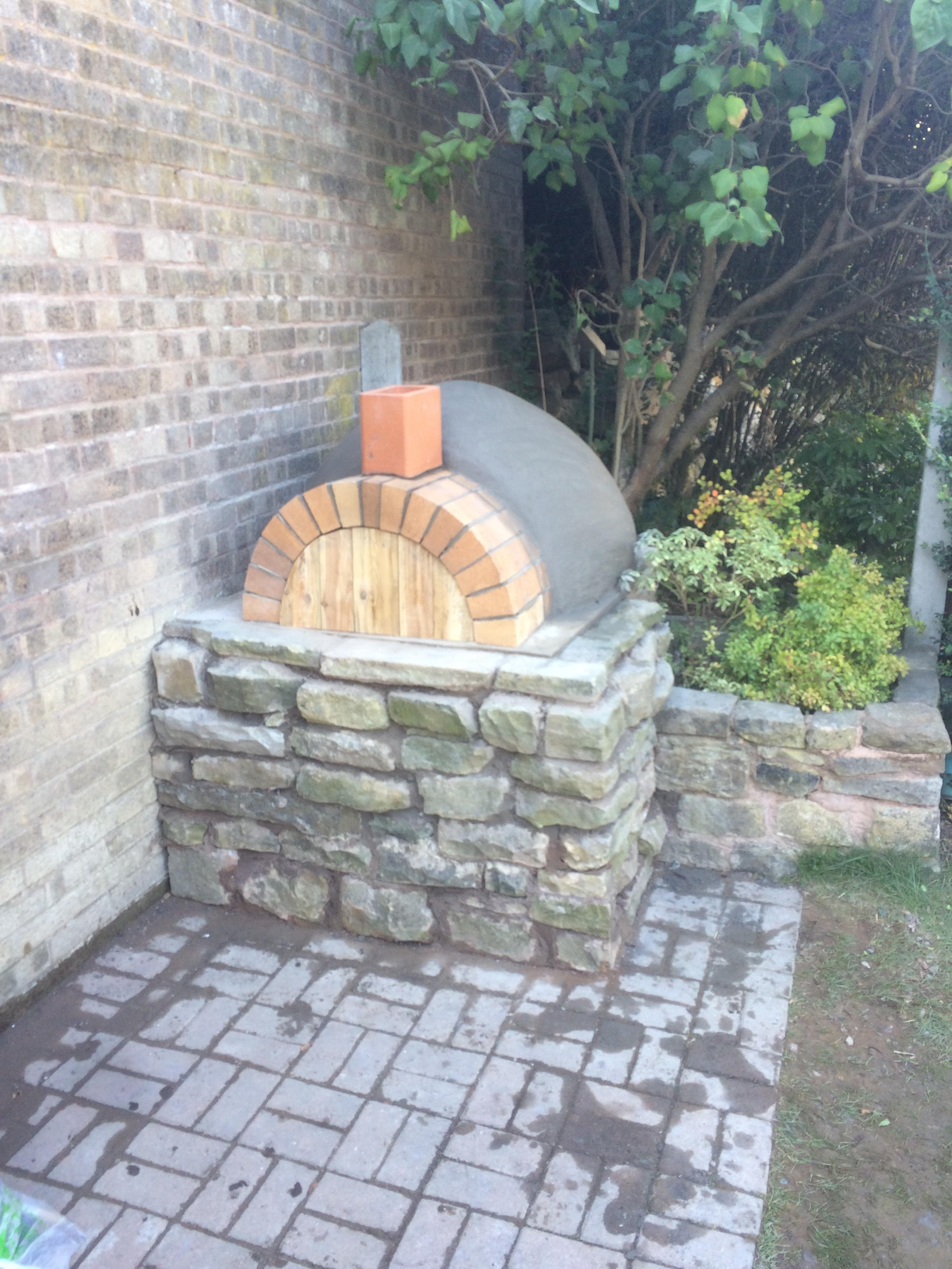 View Larger Image DIY Homemade Outdoor Brick Pizza Oven | Step By Step Guide