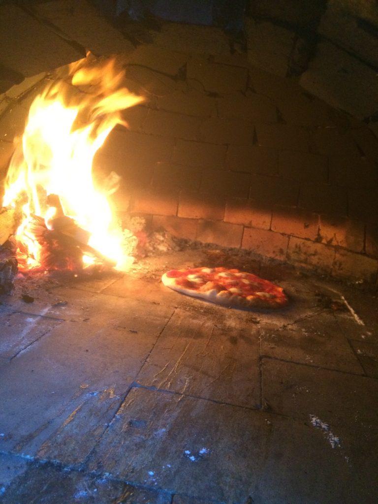 DIY Outdoor Brick Pizza Oven Step 20