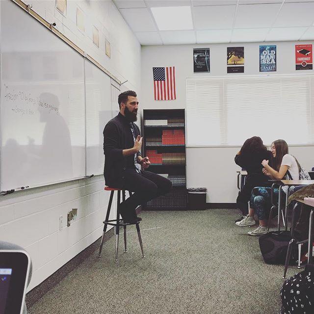 Chris Peck Teacher with Looks