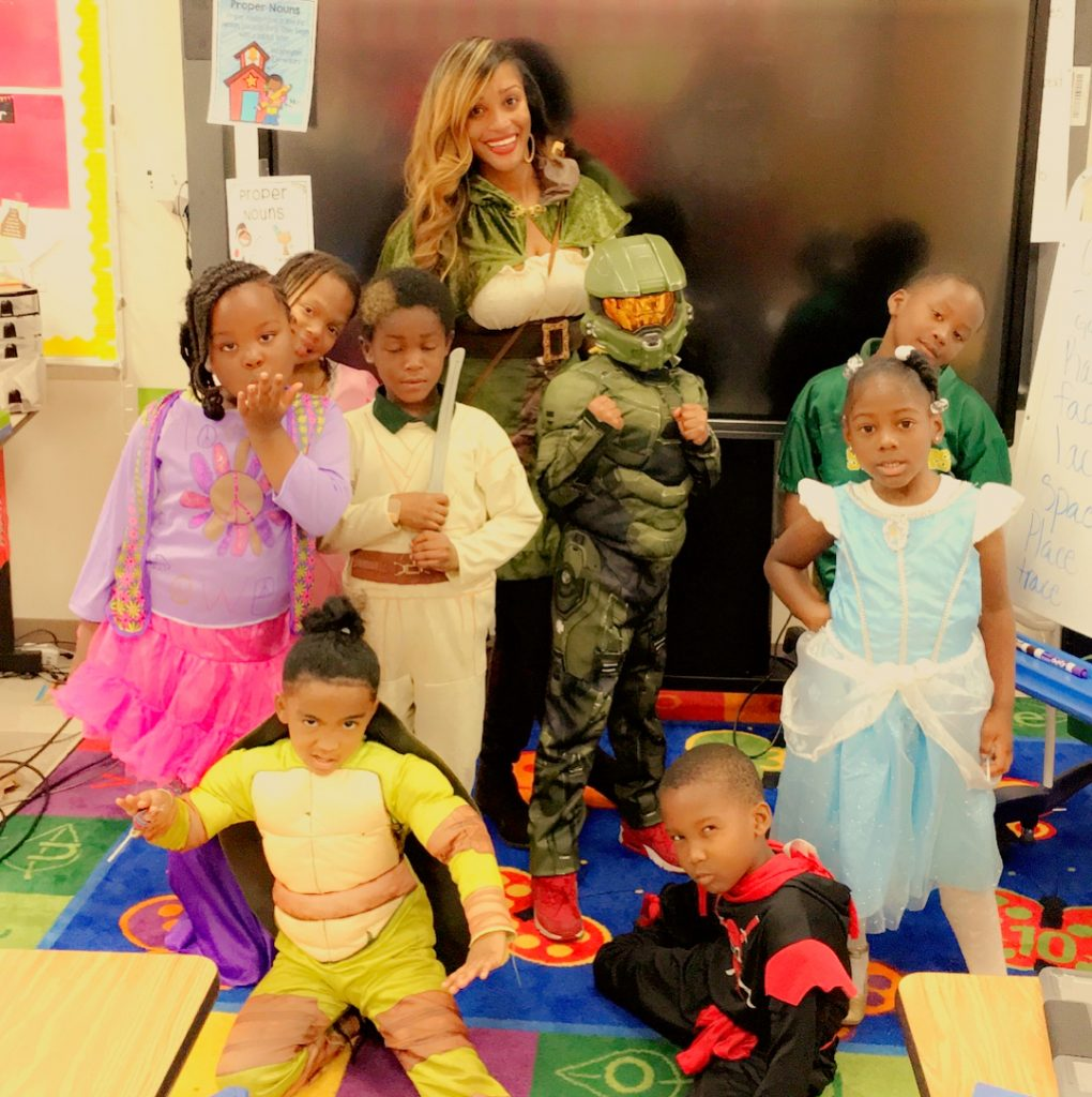 Patrice Brown Teacher for children's to inspire to stay fit
