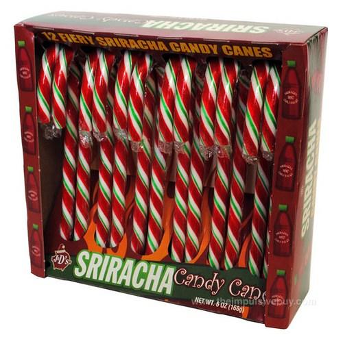 Siracha Candy Cane