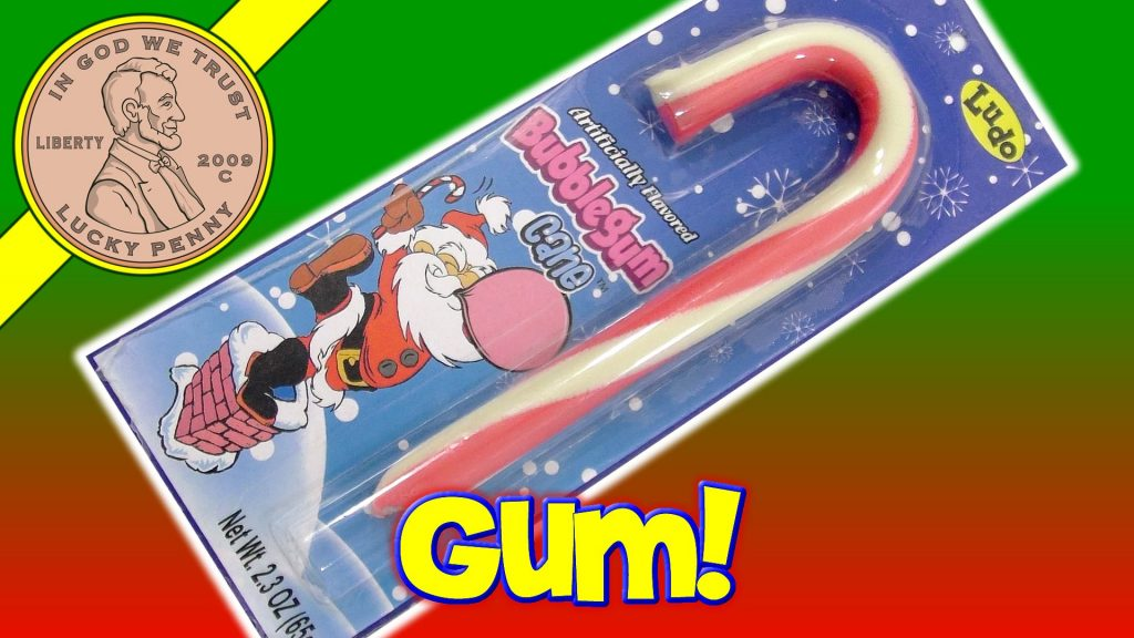 Bubble Gum Candy Cane