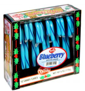 Blue Berry Candy Cane