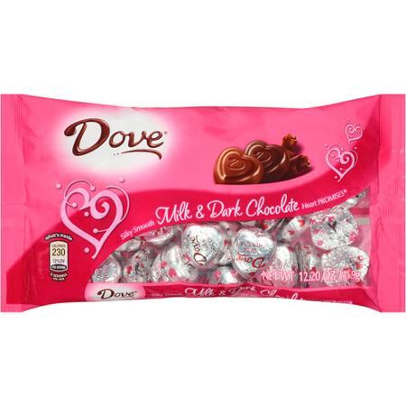 Dove Chocolate Hearts