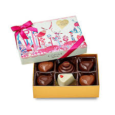 Godiva slices of Love collection