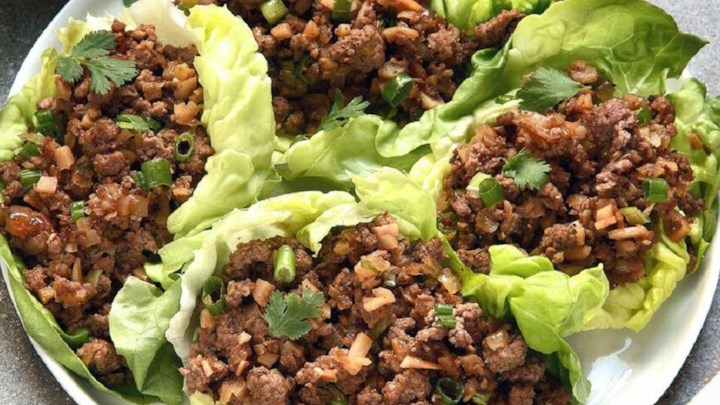 Asian lettuce wrap Recipe