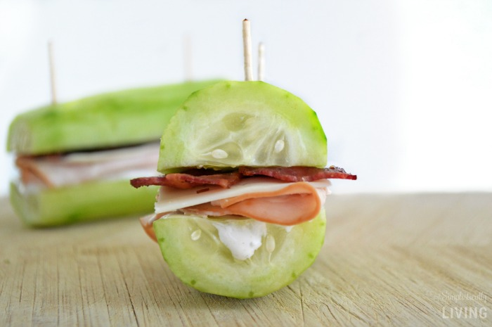 Turkey Bacon Cucumber Sandwich Recipe