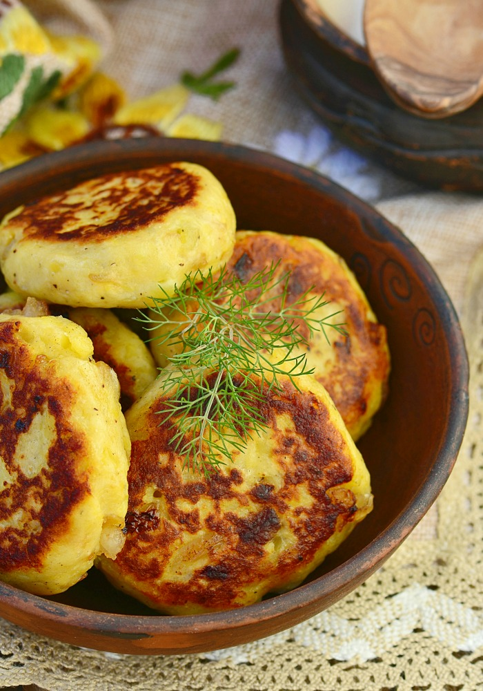 Onion Patties Recipe