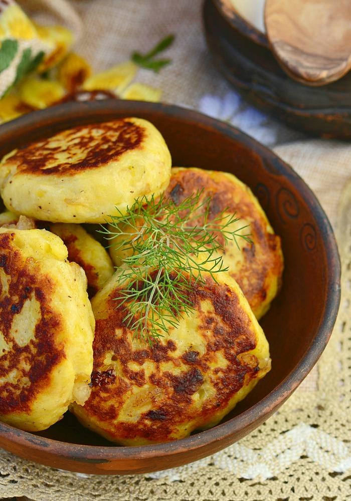 Onion Patties Recipe