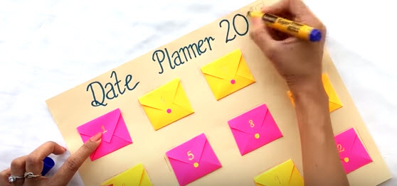 Date Planner Gift