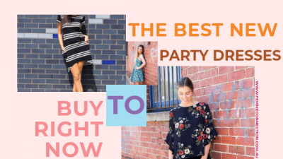 the best new party dresses to buy right now