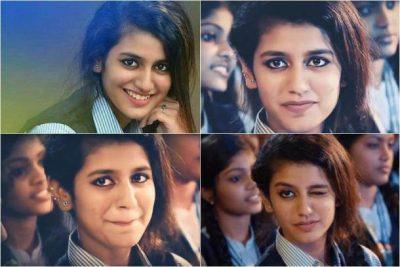 Priya Prakash - 10 People Who Got Famous Within A Short Period On Social Media
