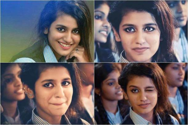Priya Prakash - 10 People Who Got Famous Within A Short Period On Social Media